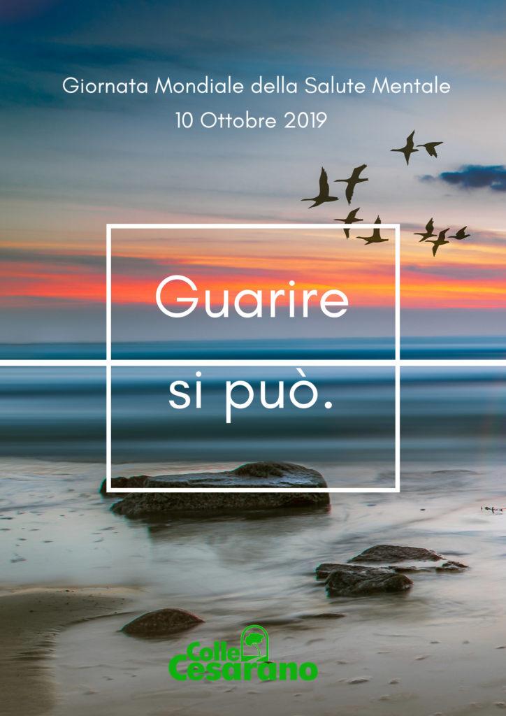 Colle Cesarano Giornata Mondiale Della Salute Mentale 2019 Guarire Si Puo